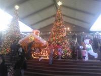 サンタの家?