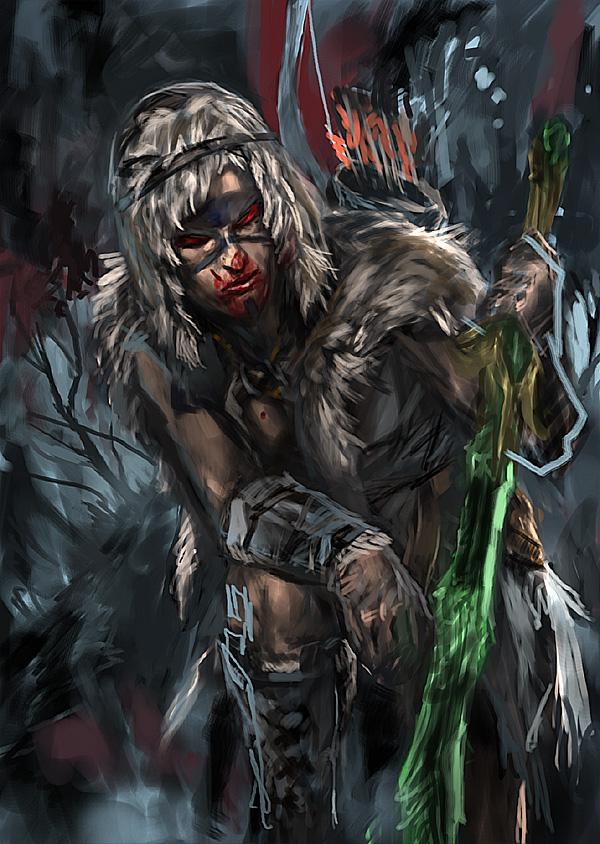skyrim woodelf