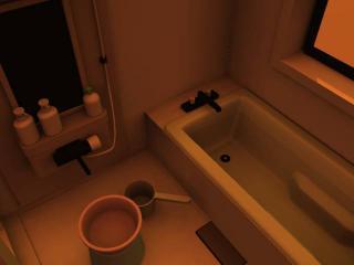黄昏の浴室