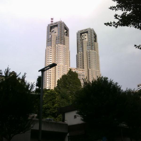 熊野神社から都庁