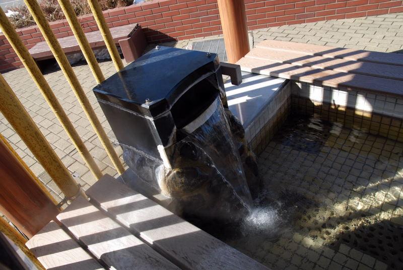 湯の川温泉 足湯2