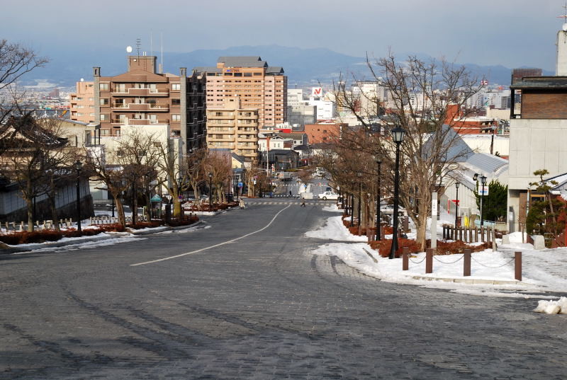 函館の坂1