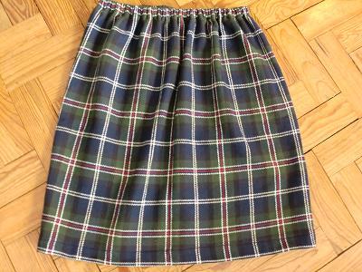 a minha saia