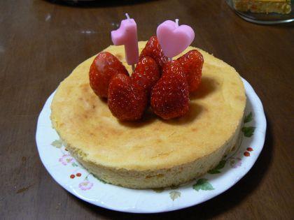 わんこ用ケーキ
