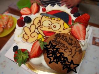 怪物くんケーキ1