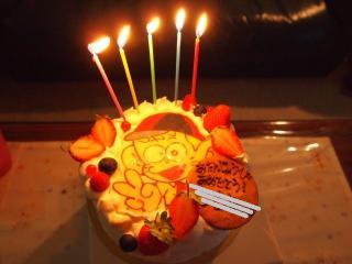 怪物くんケーキ2