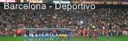 Barcelona - Deportivo