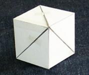 組み合わせた立方体