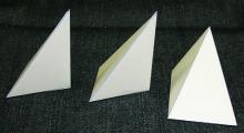 3つの三角錐