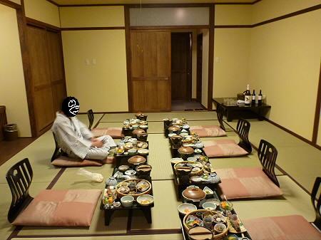 峡雲荘の夕食21(2011.12.4)