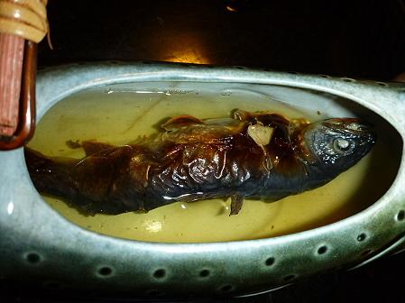 峡雲荘の夕食15(2011.12.4)