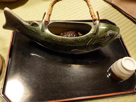 峡雲荘の夕食16(2011.12.4)