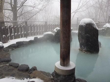 峡雲荘の露天風呂04(2011.12.5)