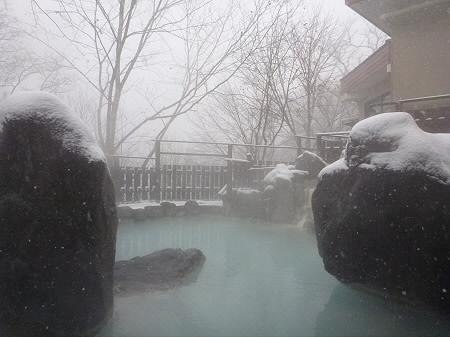 峡雲荘の露天風呂05(2011.12.5)