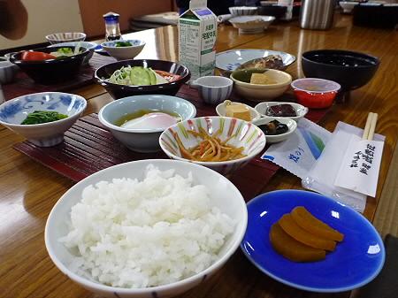 峡雲荘の朝食04(2011.12.5)