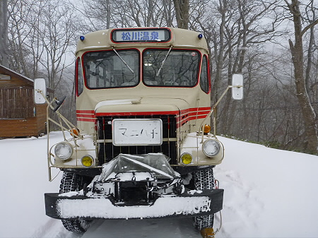 冬のボンネットバス01(2011.12.5)