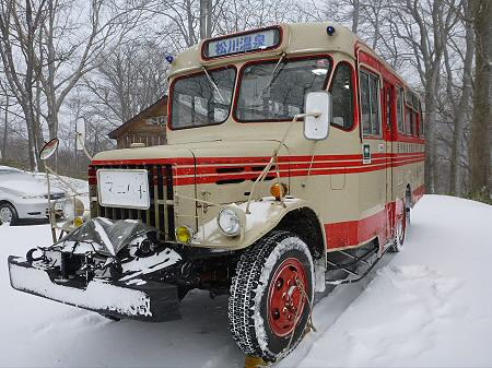 冬のボンネットバス02(2011.12.5)