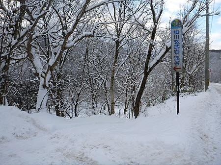 松川渓谷玄武岩16(2011.12.21)