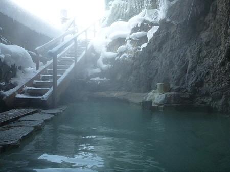 松楓荘の岩風呂10(2011.12.21)