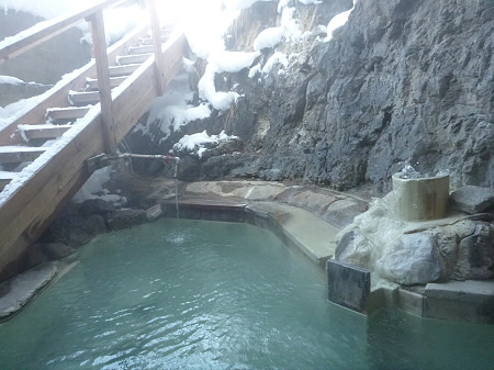 松楓荘の岩風呂11(2011.12.21)