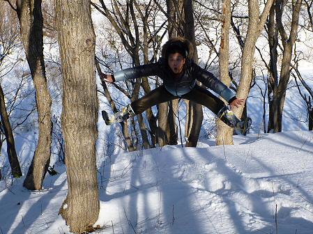深雪のさくら公園23(2012.1.19)