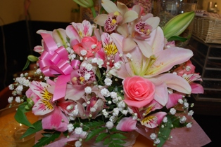 デコちゃんから御花