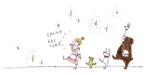 春が来るよ