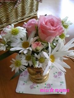 美羽のお花
