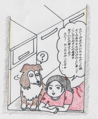 イラスト(I Love ルビー)正面2