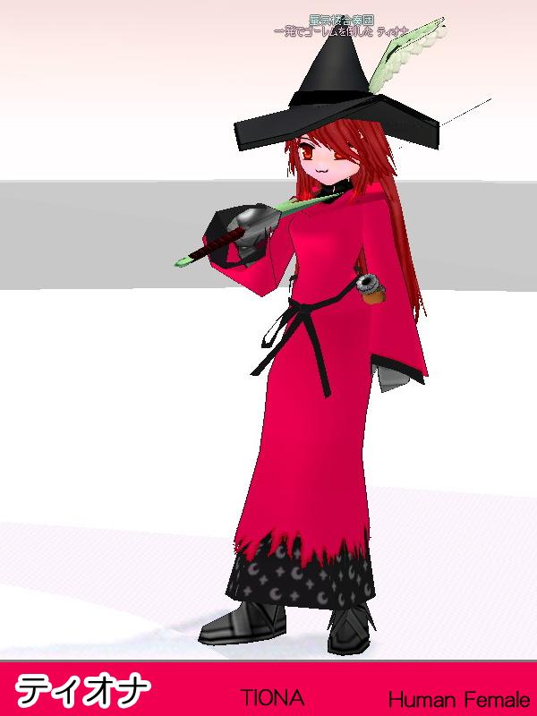 キャラクター・ティオナ