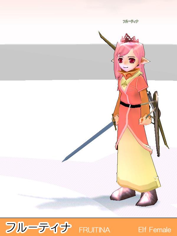キャラクター・フルーティア