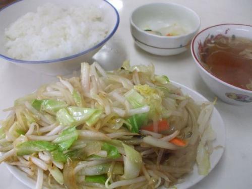 野菜炒め01