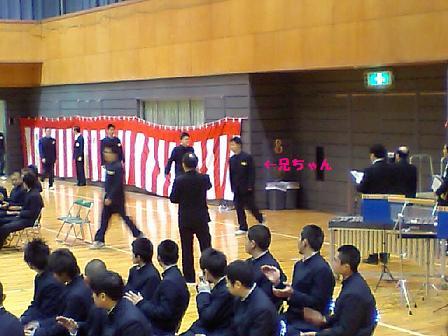 起一・卒業式2