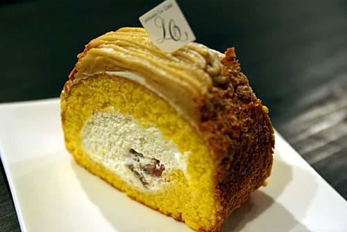 ル・クール 栗のロールケーキ