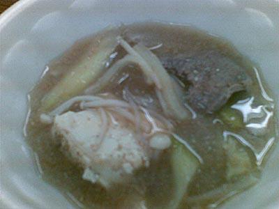 ジビエと新潟の地酒を呑む イノシシの味噌鍋