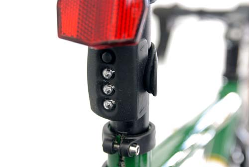 Knog Gekko LED Rear Light Black