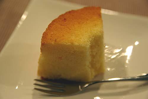 米粉のシフォンケーキ