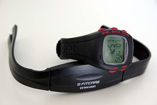 マルマン maruman 腕時計 フィットケア 心拍計付きエクササイズウォッチ FC001-01