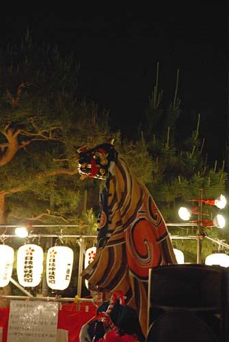 山王まつり 中島の獅子舞