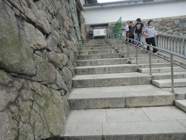 昔の人の歩幅