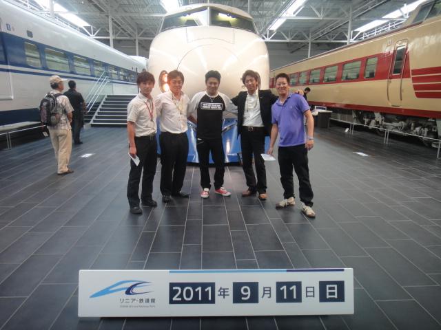 新幹線集合写真