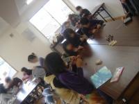 蜜蝋キャンドル教室 001
