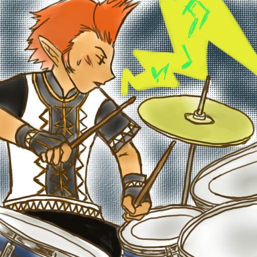 ドラム叩くよ!!