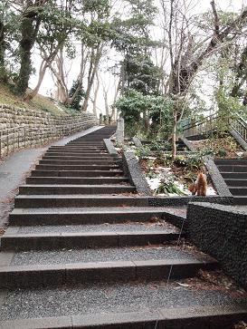 お散歩・階段2