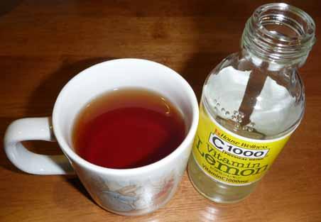 091114C1000と紅茶