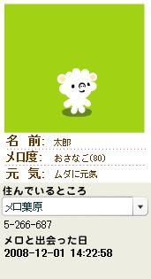 メロ度80太郎