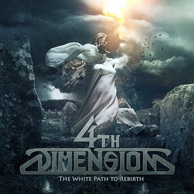 4th Dimension - The White Path To Rebirth (Front Cover) by Eneas