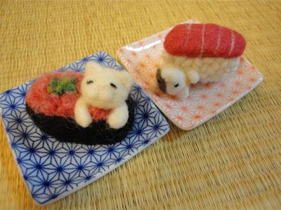 寿司猫 ねぎとろ&まぐろ