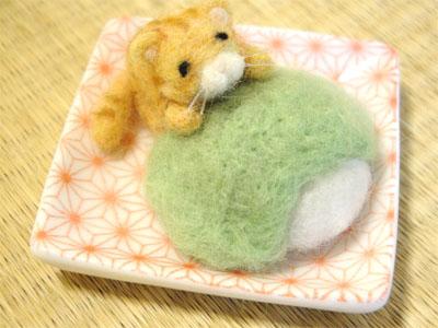 菓子猫 ずんだ餅①-1