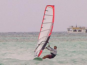 サイパンマイクロビーチ2007年7月26日久々のプレーニング!